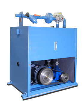 Submersible power unit canton elevator for Submersible hydraulic pump motor