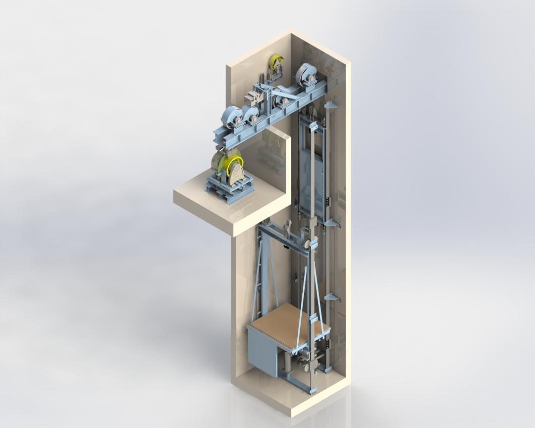 Freedom SP - Gearless offset basement
